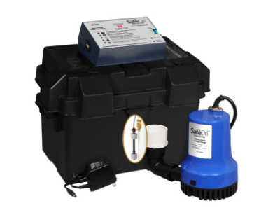 a battery backup sump pump system in Grove City